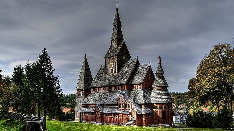 Stabkirche Hahnenklee | © kordi_vahle / Pixabay