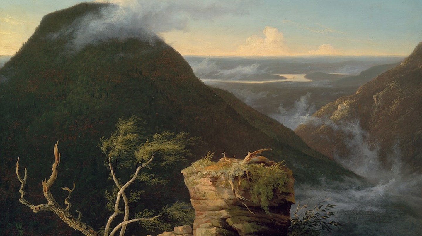 Thomas Cole.View of the Round-Top in the Catskill Mountains (Sunny Morning on the Hudson), 1827 | © Museum of Fine Arts, Boston
