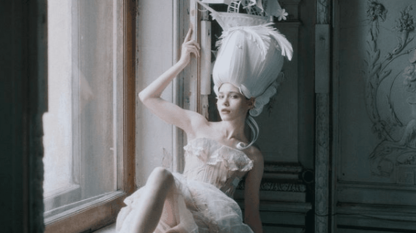 The Russian Couple Who Makes Baroque Wigs Out of Paper