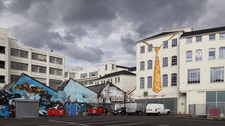 Digbeth street art | © Polyrus/Flickr