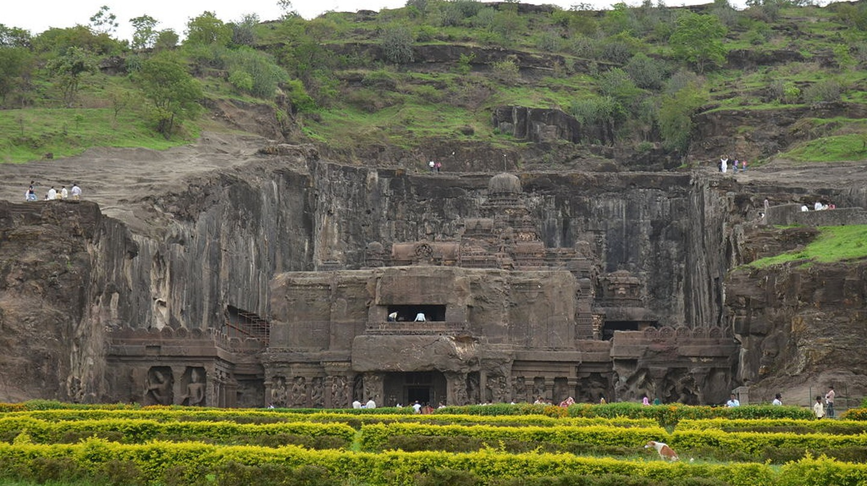 Ellora Caves, Ellora, Aurangabad | © Ashwin Nair / WikiCommons