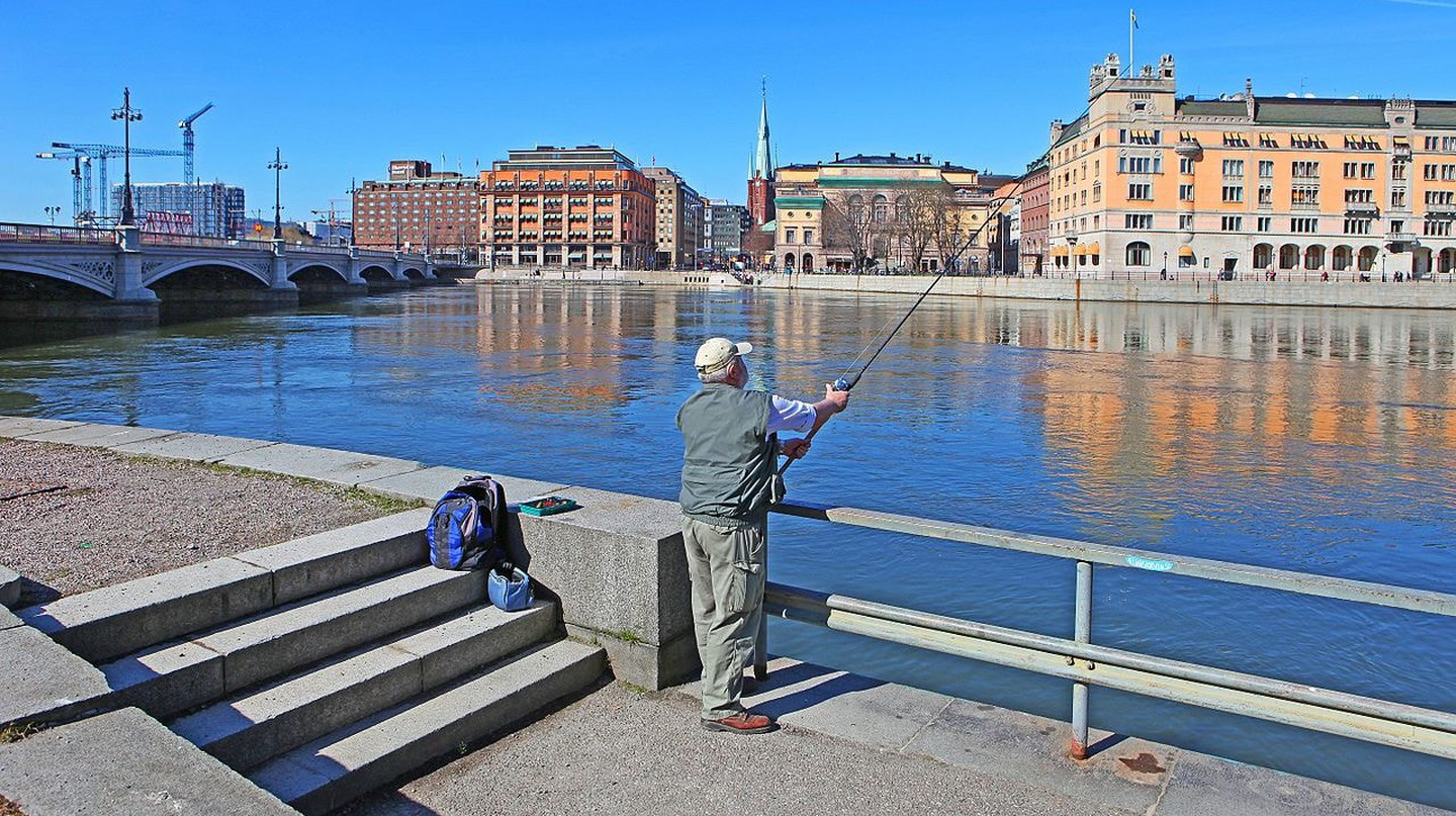 Stockholm is a great place for fishing |©Bengt Nyman / WikiCommons