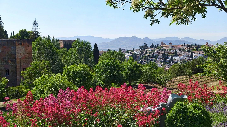 The Generalife Gardens, Granada | © MemoryCatcher / Pixabay