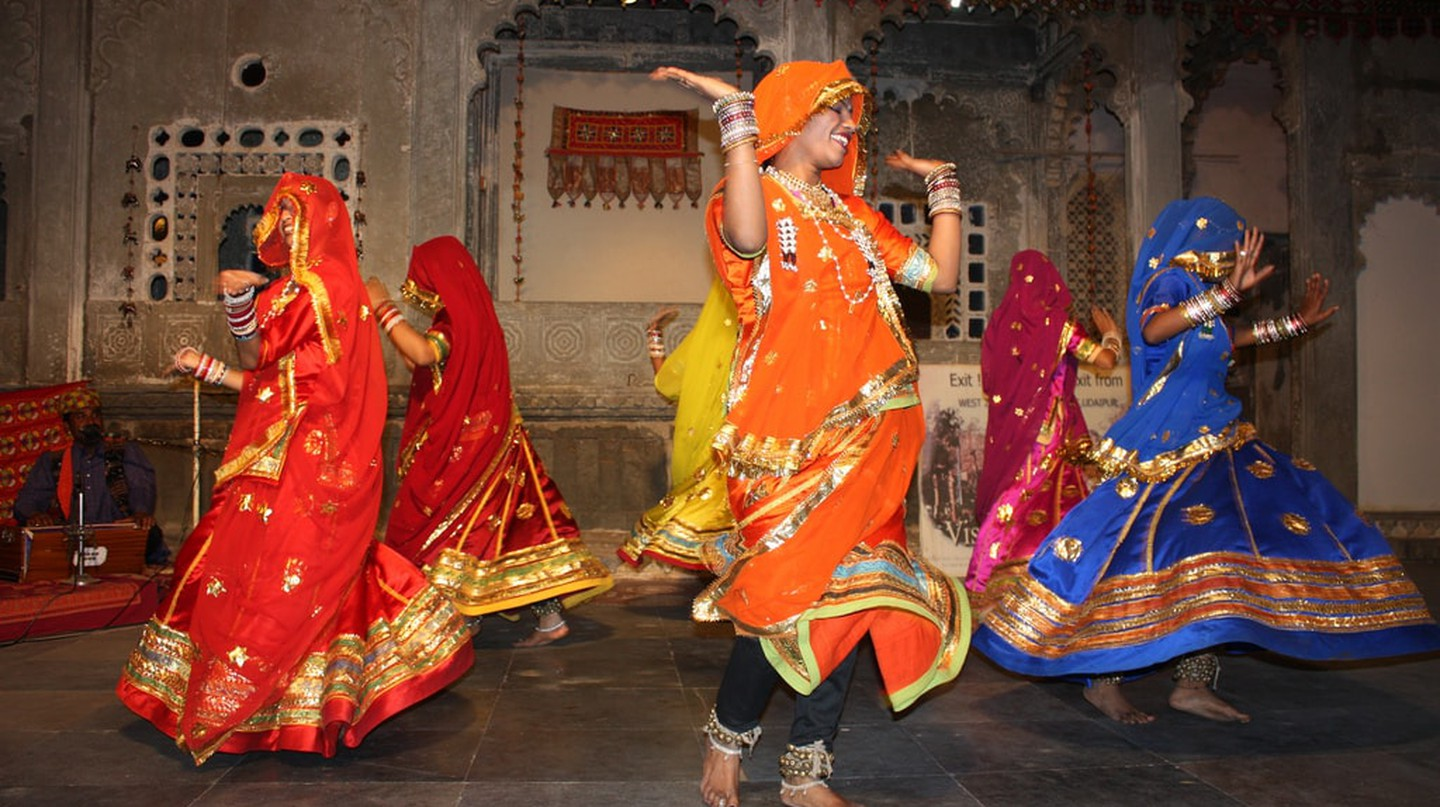 Ghoomar performed by the Bhil tribal women
