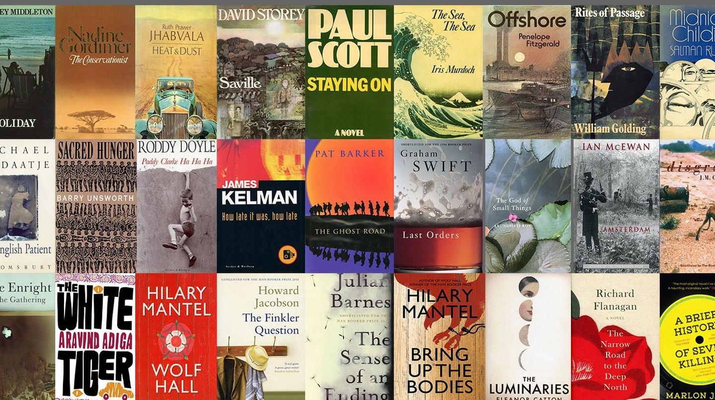 Man Booker Prize Winner Jacket Covers