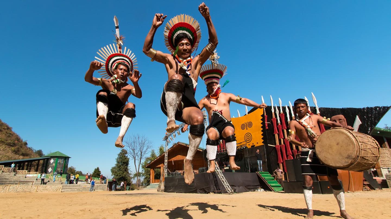 Zeliang Naga Tribesmen of Nagaland, India | © Vikramjit Kakati / WikiCommons