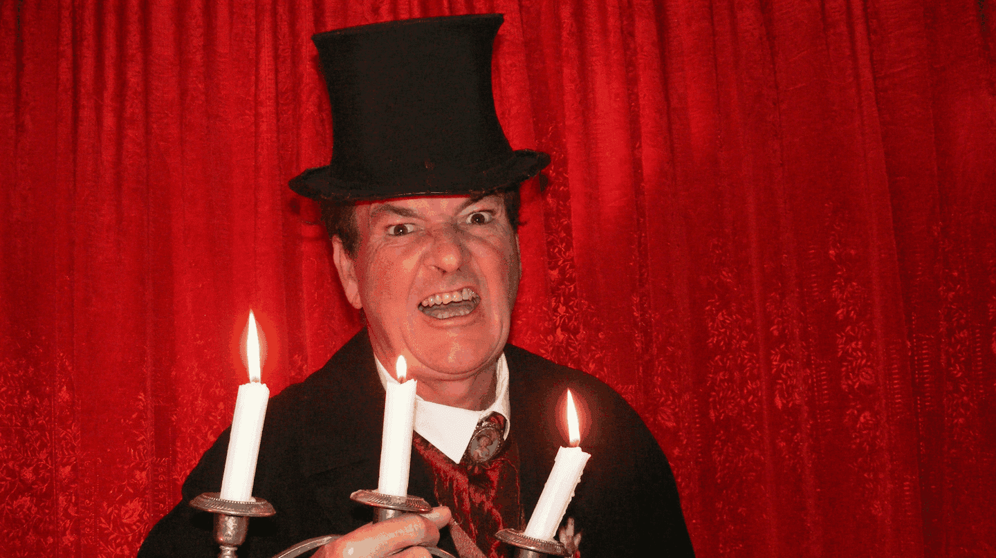 Illusionist and parapsychologist Mark Rose-Christie |Courtesy of Mystery Ghost Bus Tour