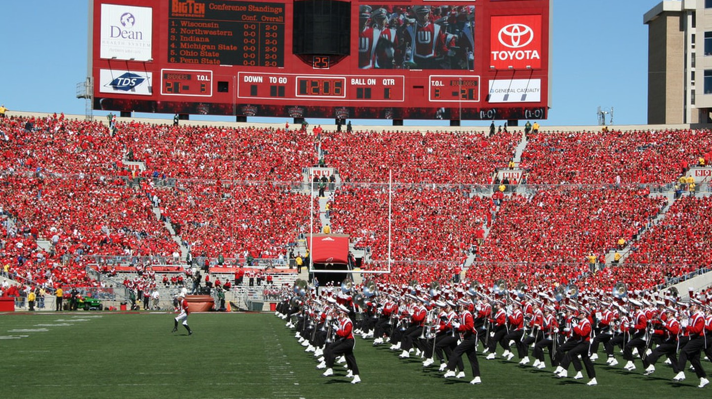 University of Wisconsin Band | © Jeramey Jannene / Flickr