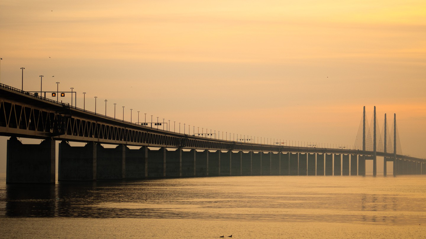 The Oresund Bridge serves as setting for one of Sweden's most popular TV shows | © Fpo74/WikiCommons