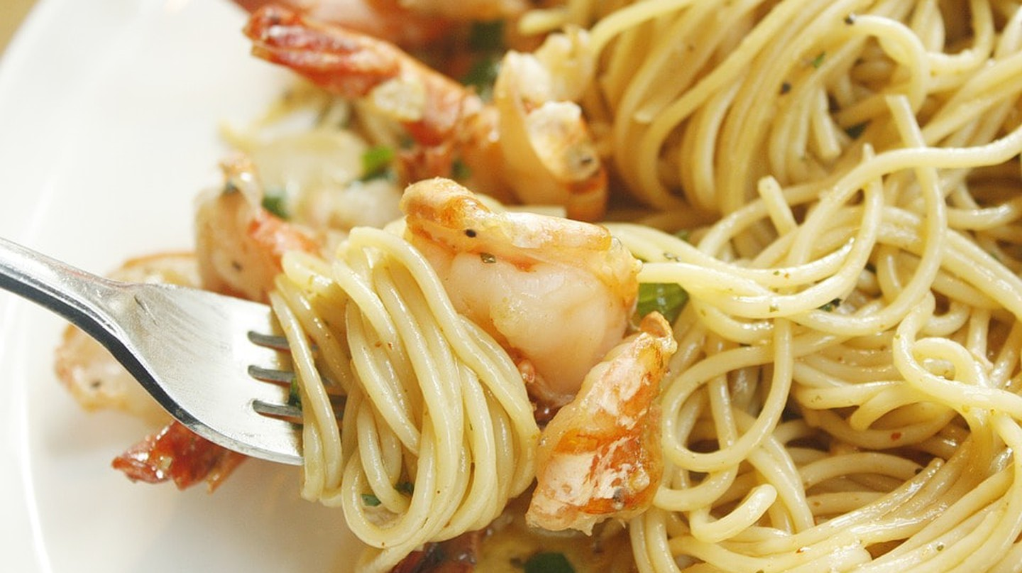Pasta with shrimp | © Generation1988 / Pixabay