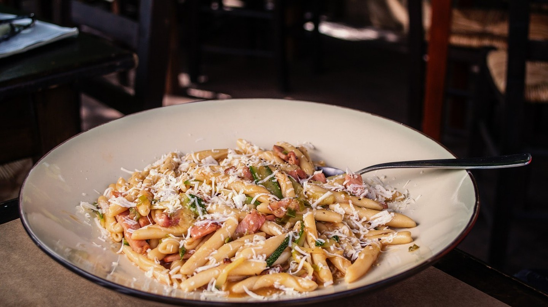Plate of Cretan pasta, or skioufichta | © greekfood-tamystika/Pixabay