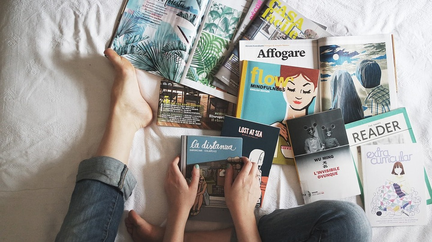 Stockholm has some excellent magazines | © StockSnap / Pixabay