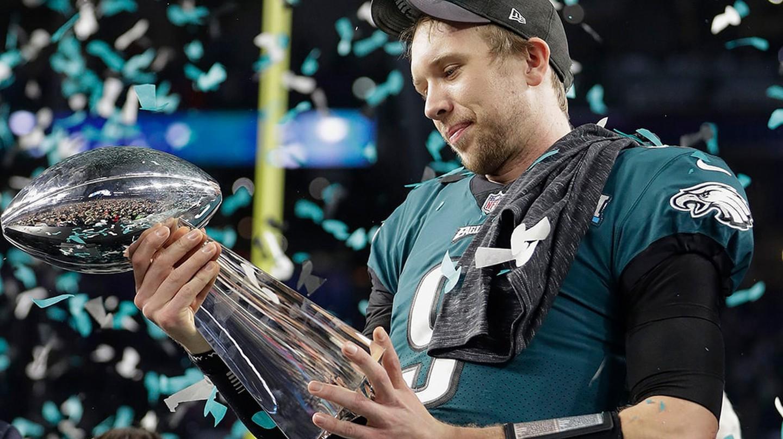 Philadelphia Eagles QB Nick Foles was named Super Bowl LII MVP | © Mark Humphrey/AP/REX/Shutterstock