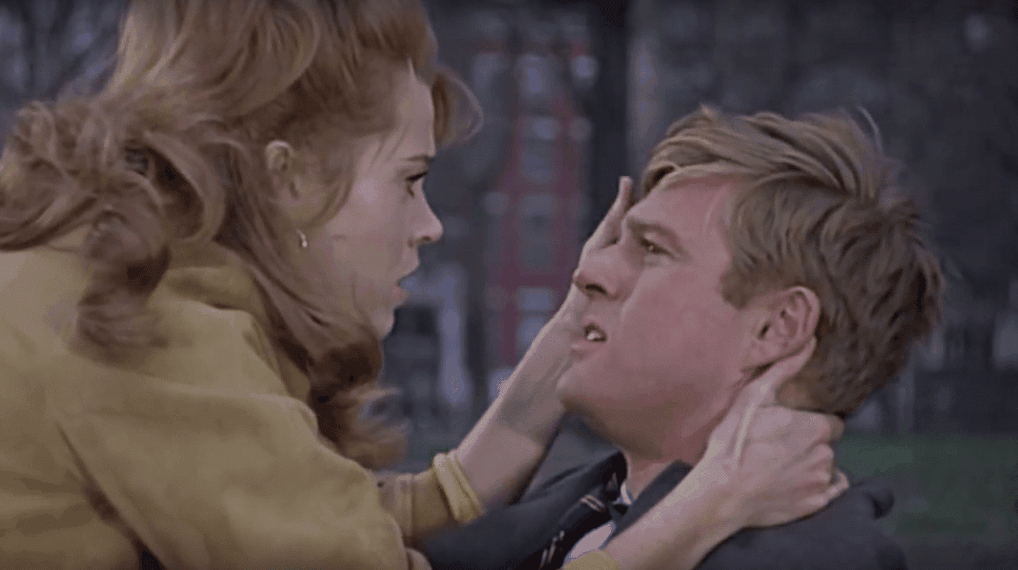 Jane Fonda and Robert Redford in 'Barefoot in the Park' | © Paramount Pictures