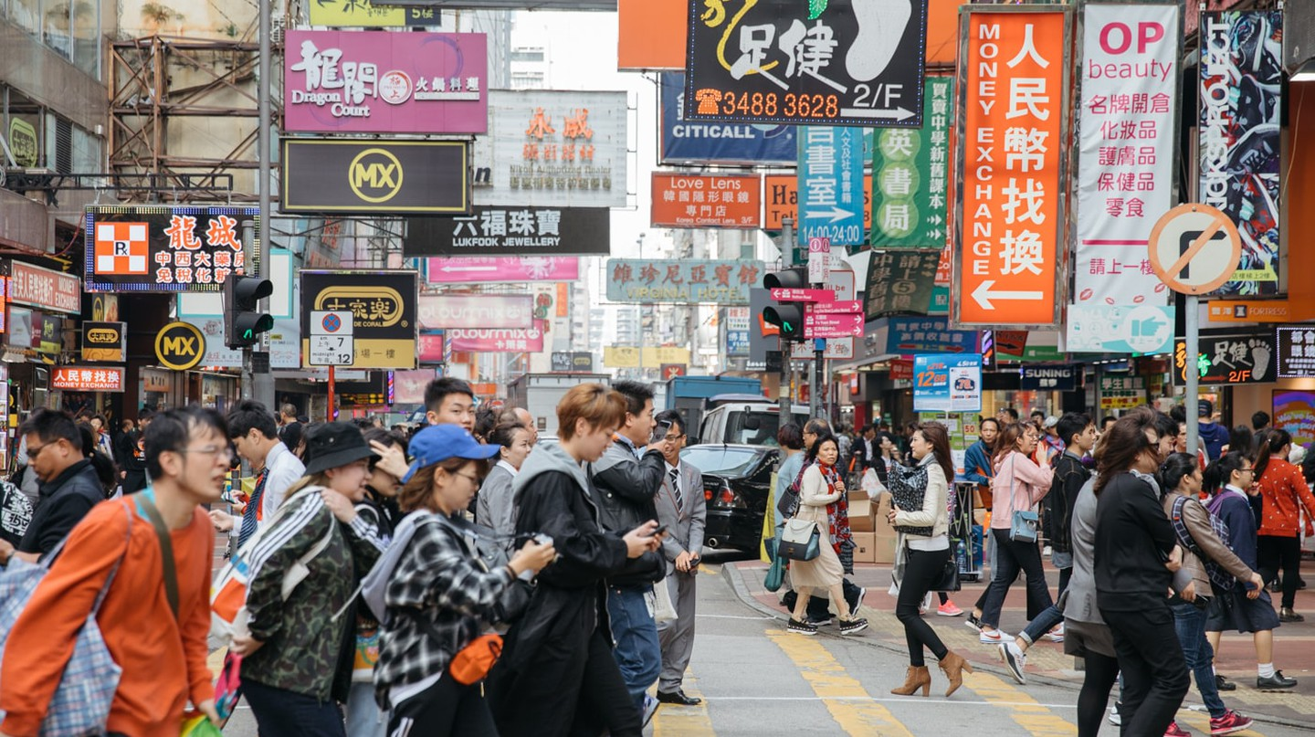 Mong Kok is everything you expect Hong Kong to be