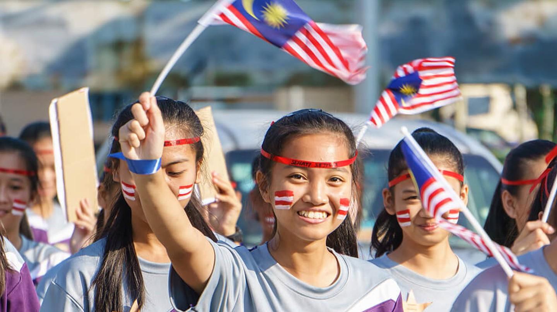 Celebrating Independence Day | © Lano Lan / Shutterstock