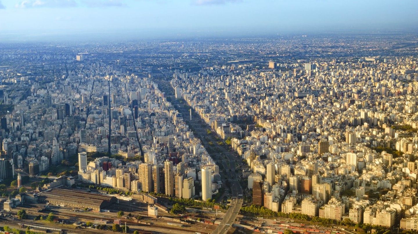 View from plane of Buenos Aires, Argentina | © Fabrizio248/Shutterstock