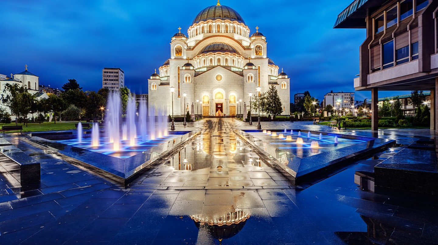 Belgrade's gorgeous Church of St. Sava