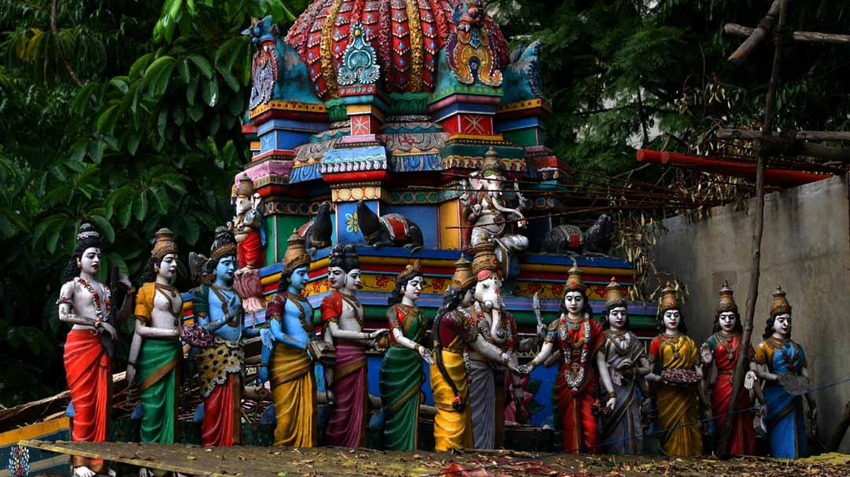 Gopuram of a temple in Bangalore | © Babasteve / WikiCommons