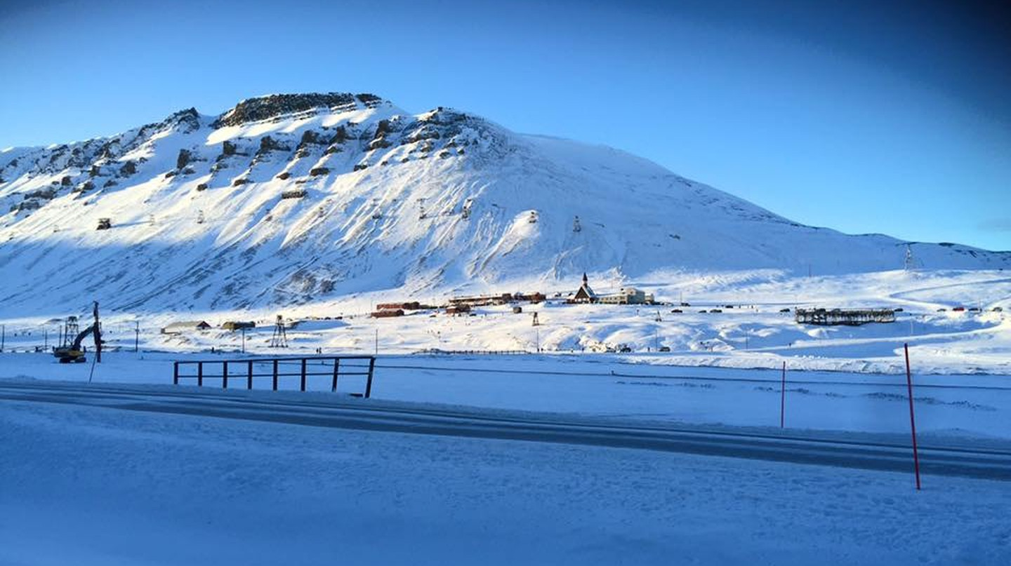 The day when the sun returns in Longyearbyen | Courtesy of Longyearbyen Kulturhus