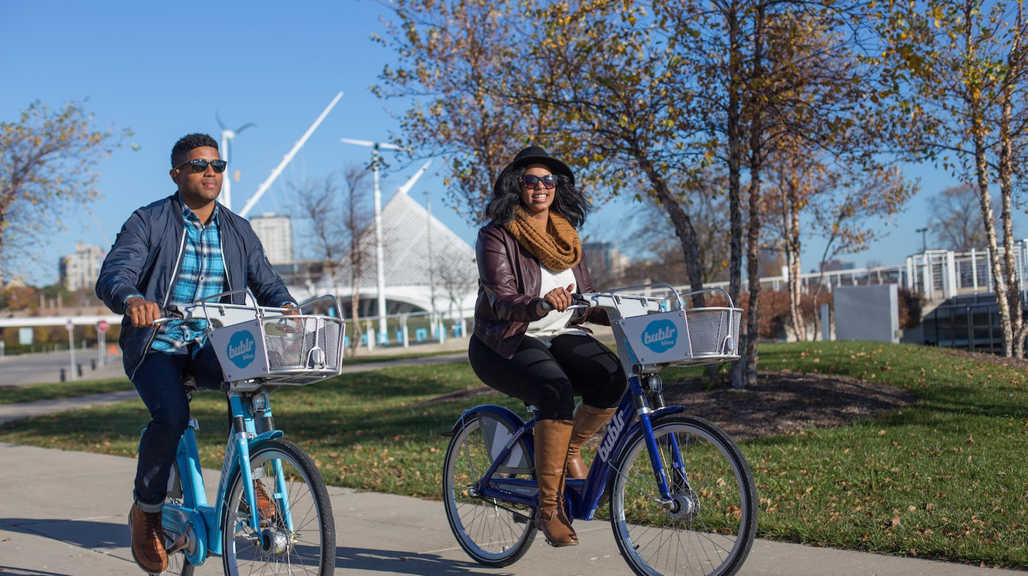 Biking in Milwaukee | © VISIT Milwaukee