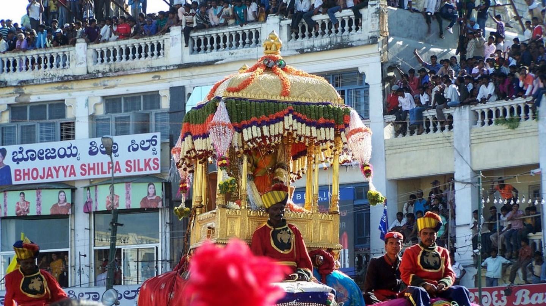 Mysore during Dussera festival