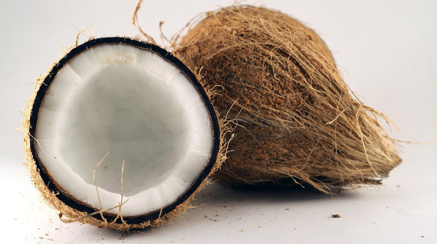 Coconut is a fruit, not a nut