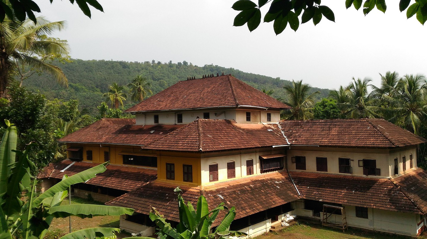 Traditional house in Kerala built in Naalukettu architectural style
