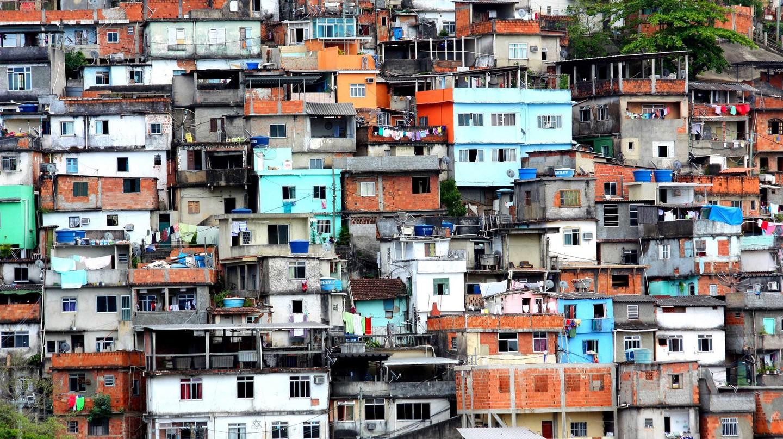 Favéla do Prazères in Brazil