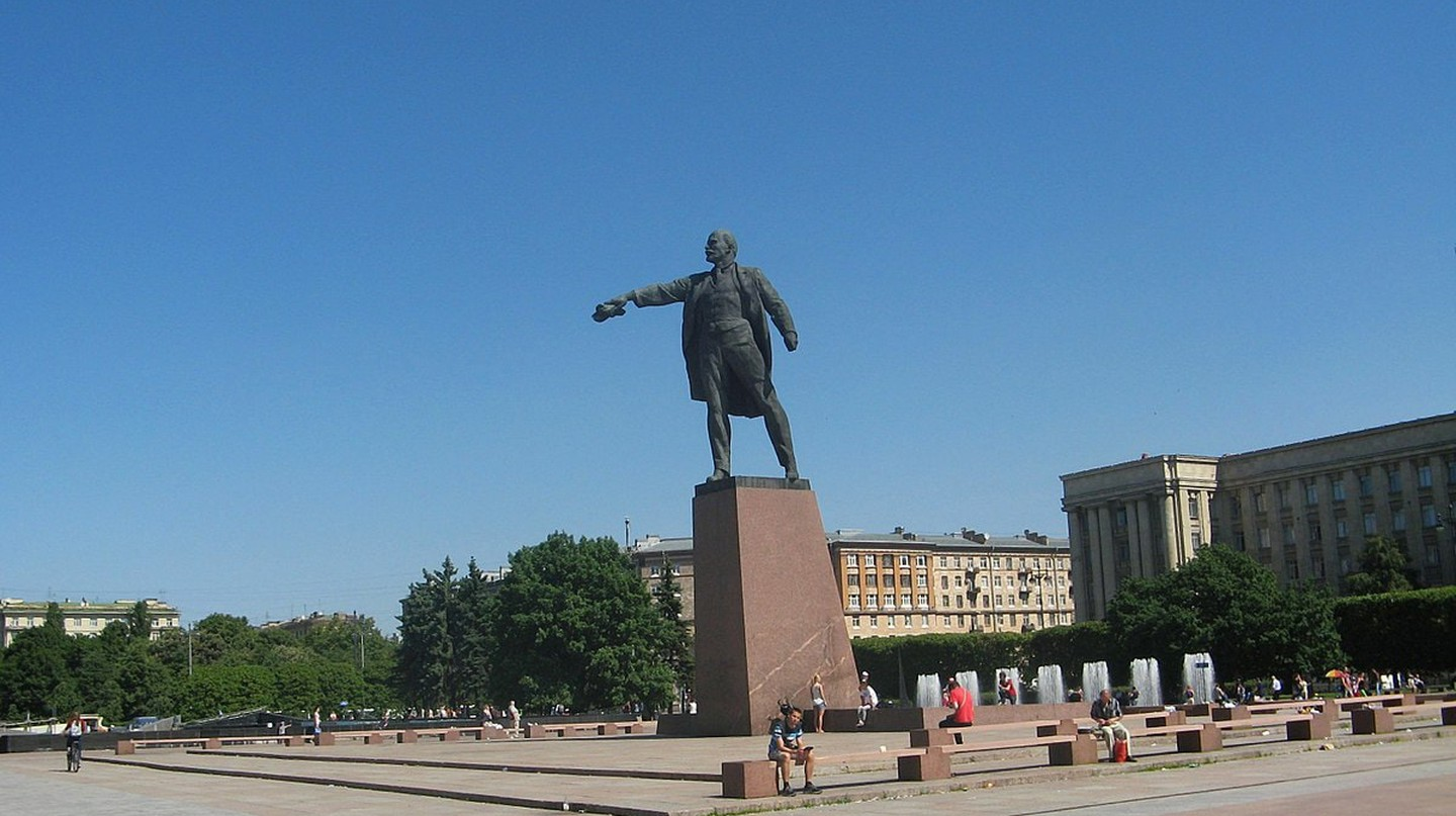 Lenin Statue on Moskovskaya Square | © Wikimedia Commons