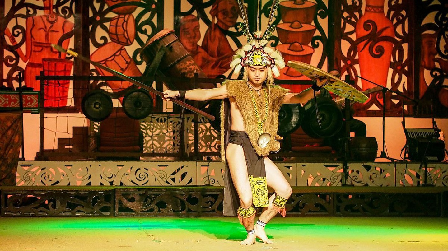 Sarawak's Iban traditional costume and dance