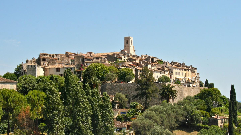 The beautiful village of Saint-Paul-de-Vence