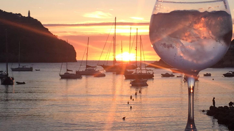 Sunset over Port de Soller