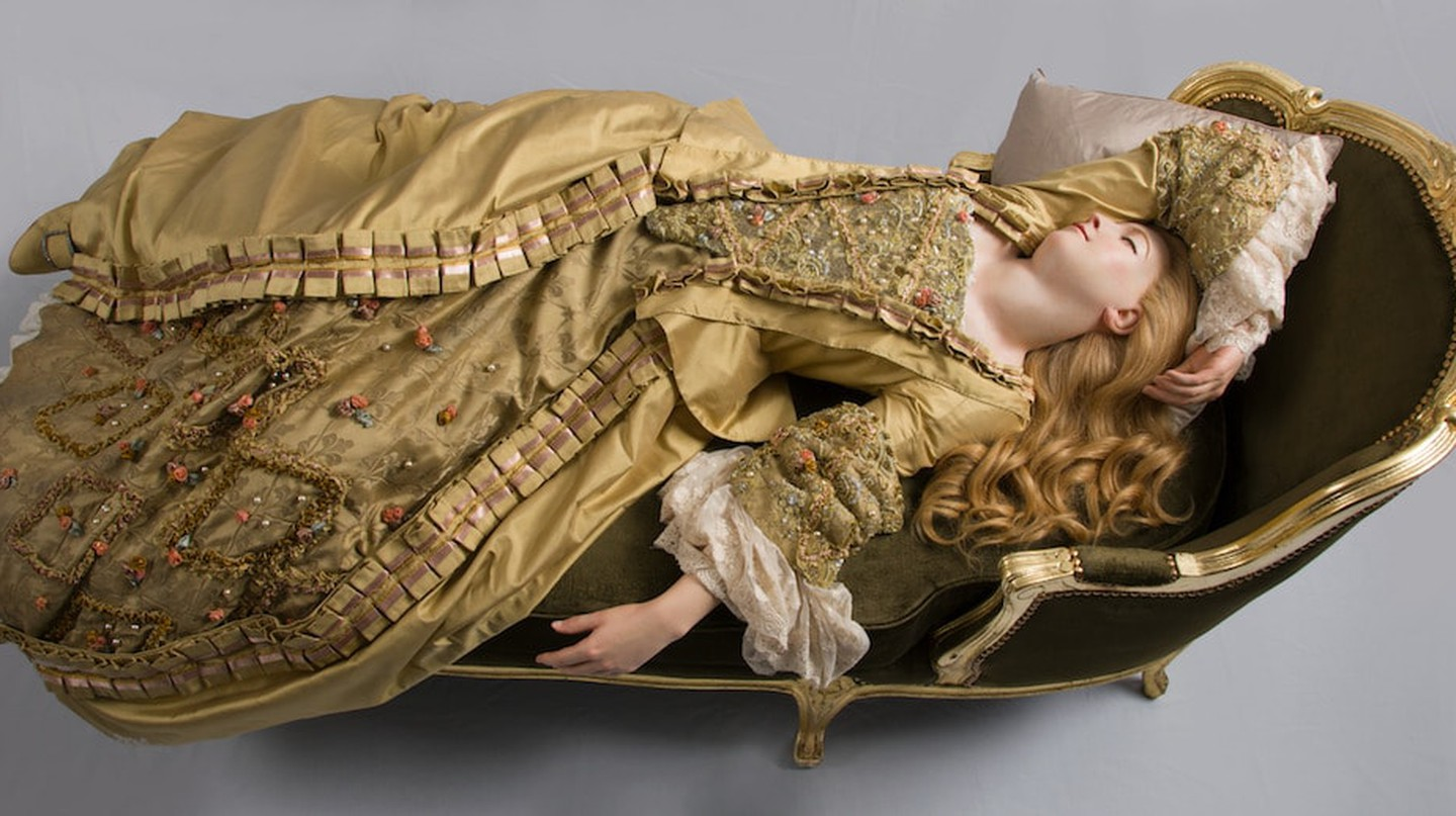 Philippe Curtius, Sleeping Beauty 1989, after 1765 original | Madame Tussauds, London.