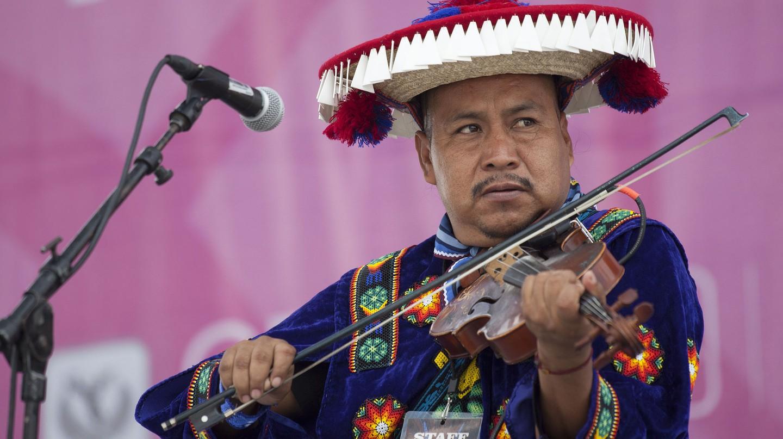 Venado Azul at the Fiesta de las Culturas Indígenas | © Secretaría de Cultura Ciudad de México / Flickr