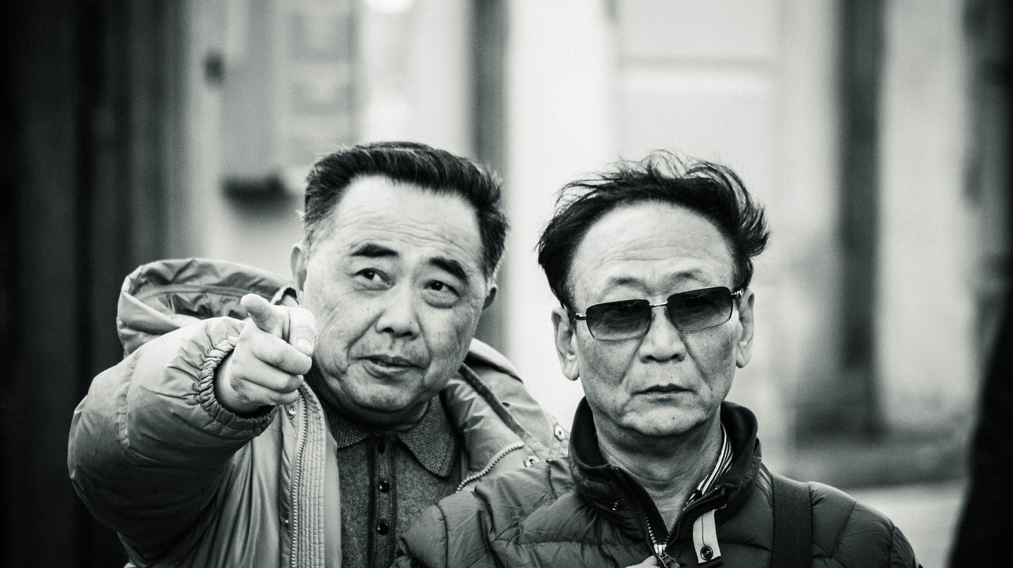 Chinese Tourists in St. Petersburg