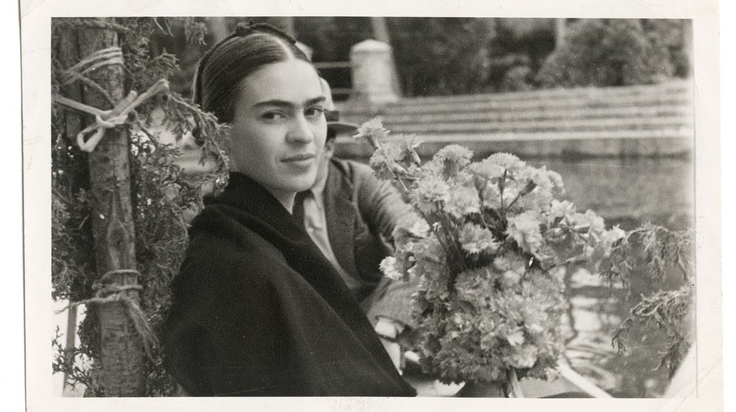 Frida on a boat ride