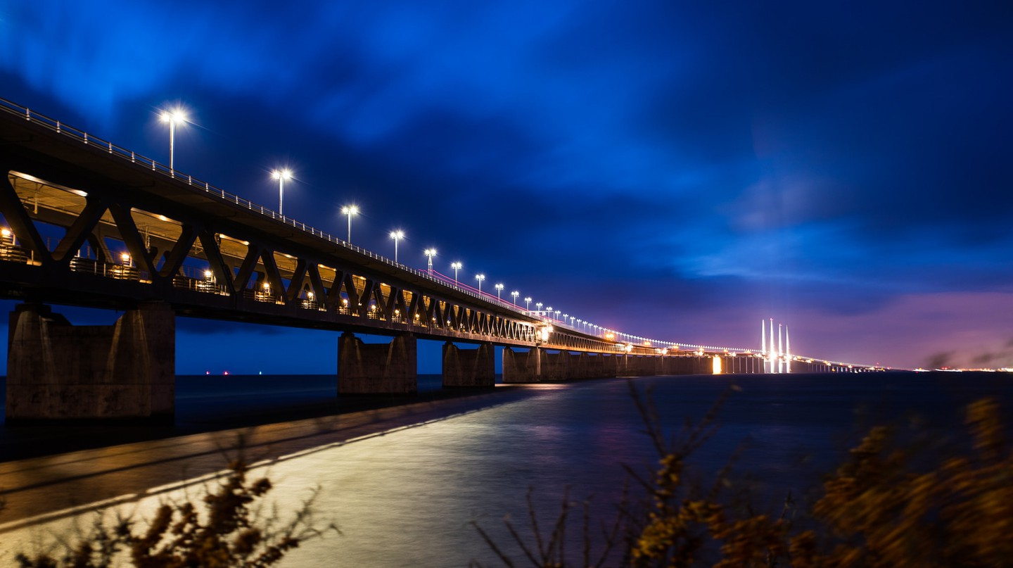 The Oresund bridge is truly spectacular | © L.E Daniel Larsson / Flickr