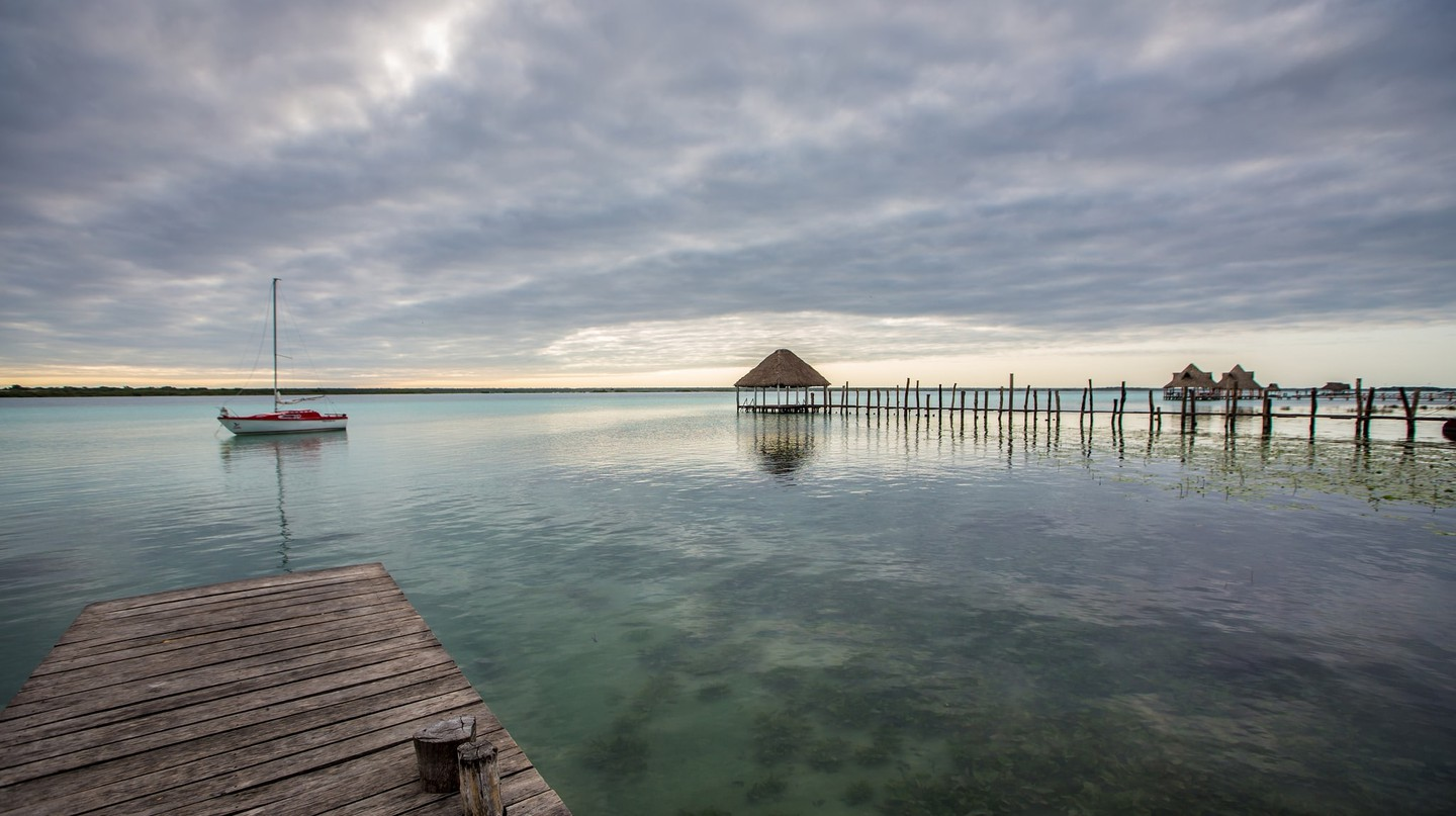 View of Lake Bacalar