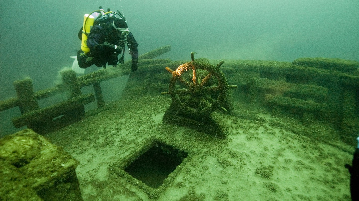 The F.T. Barney, Thunder Bay National Marine Sanctuary