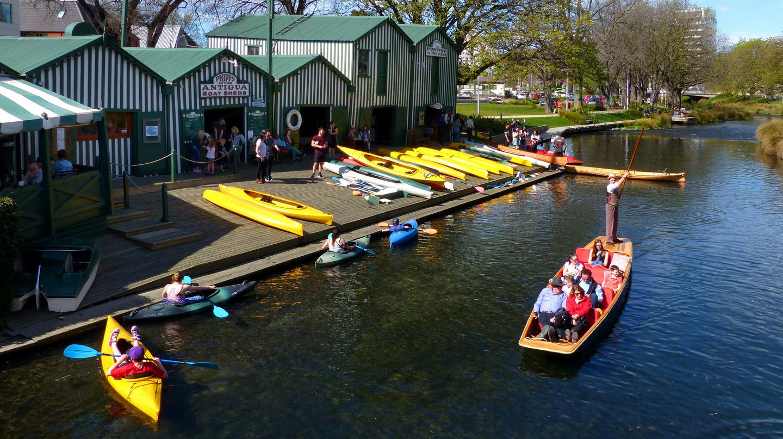 Antigua Boatsheds, Christchurch, New Zealand