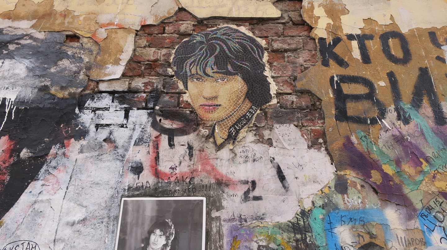 Kino's Viktor Tsoi is now a cultural icon