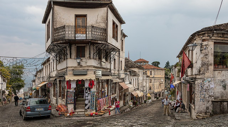 The old town of Gjirokastër ©Thomas Mulchi/Flickr
