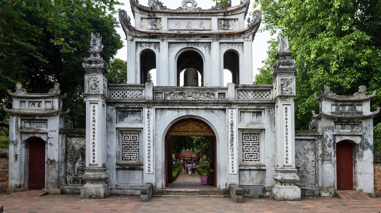 Vietnam's first university | © beggs/Flickr