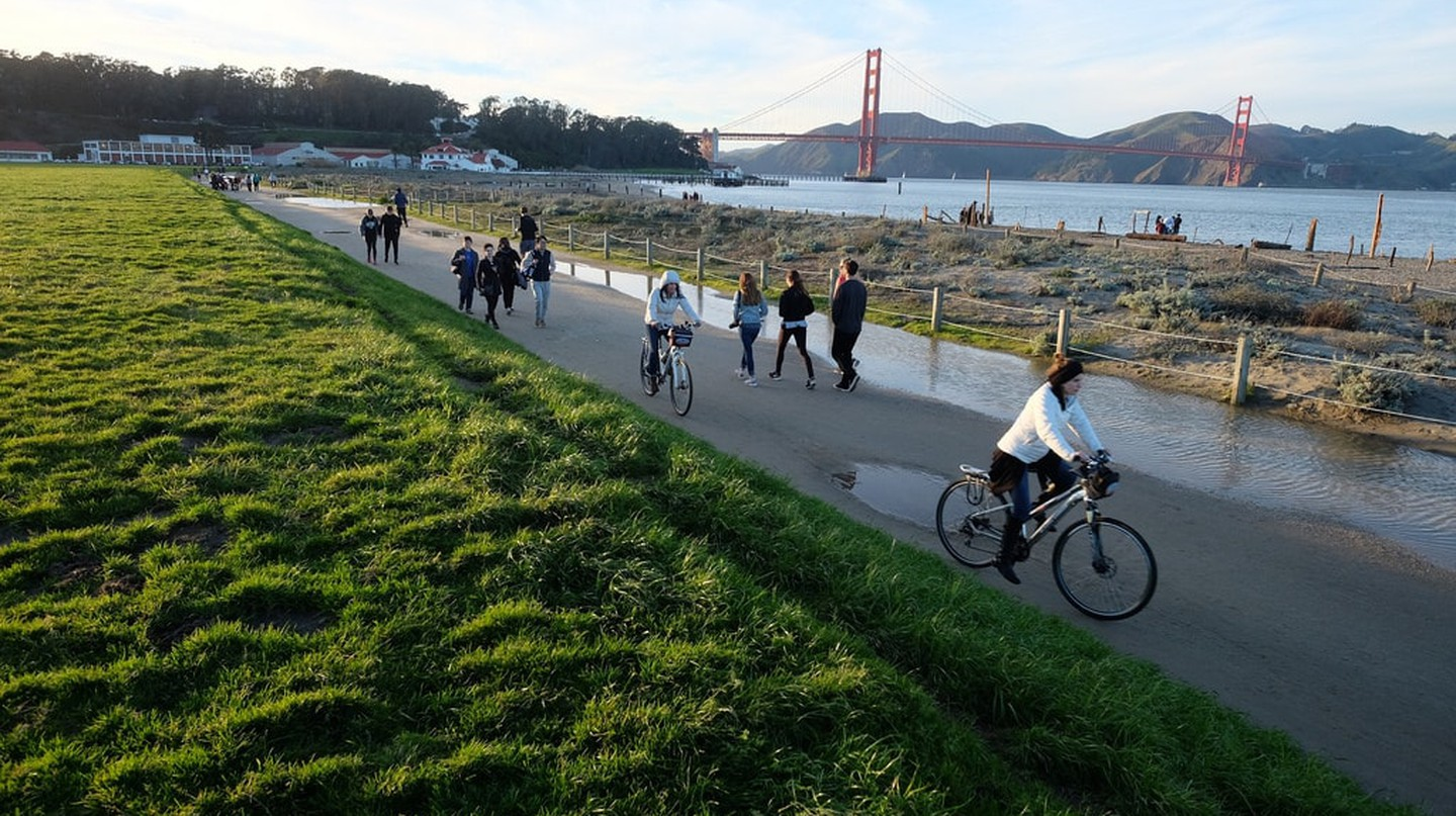 Crissy Field Promenade Repair | © Golden Gate National Recreation Area / Flickr