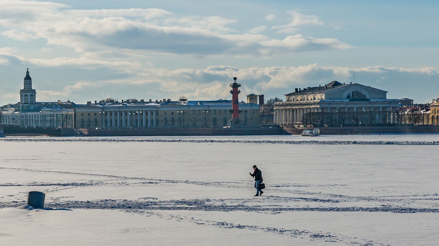 Vasilievsky Island from the Neva River