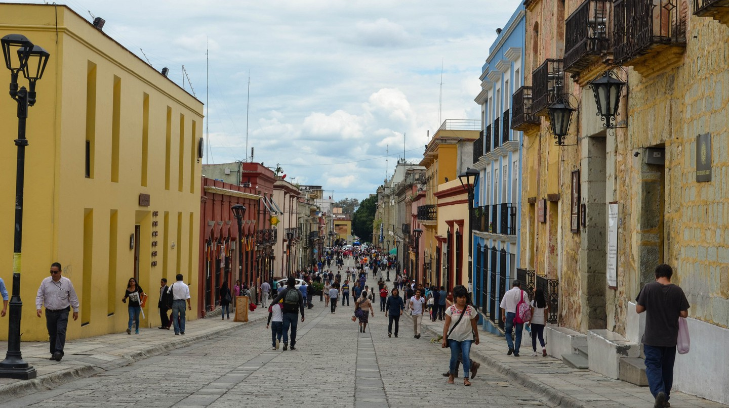 Oaxaca is great for walking