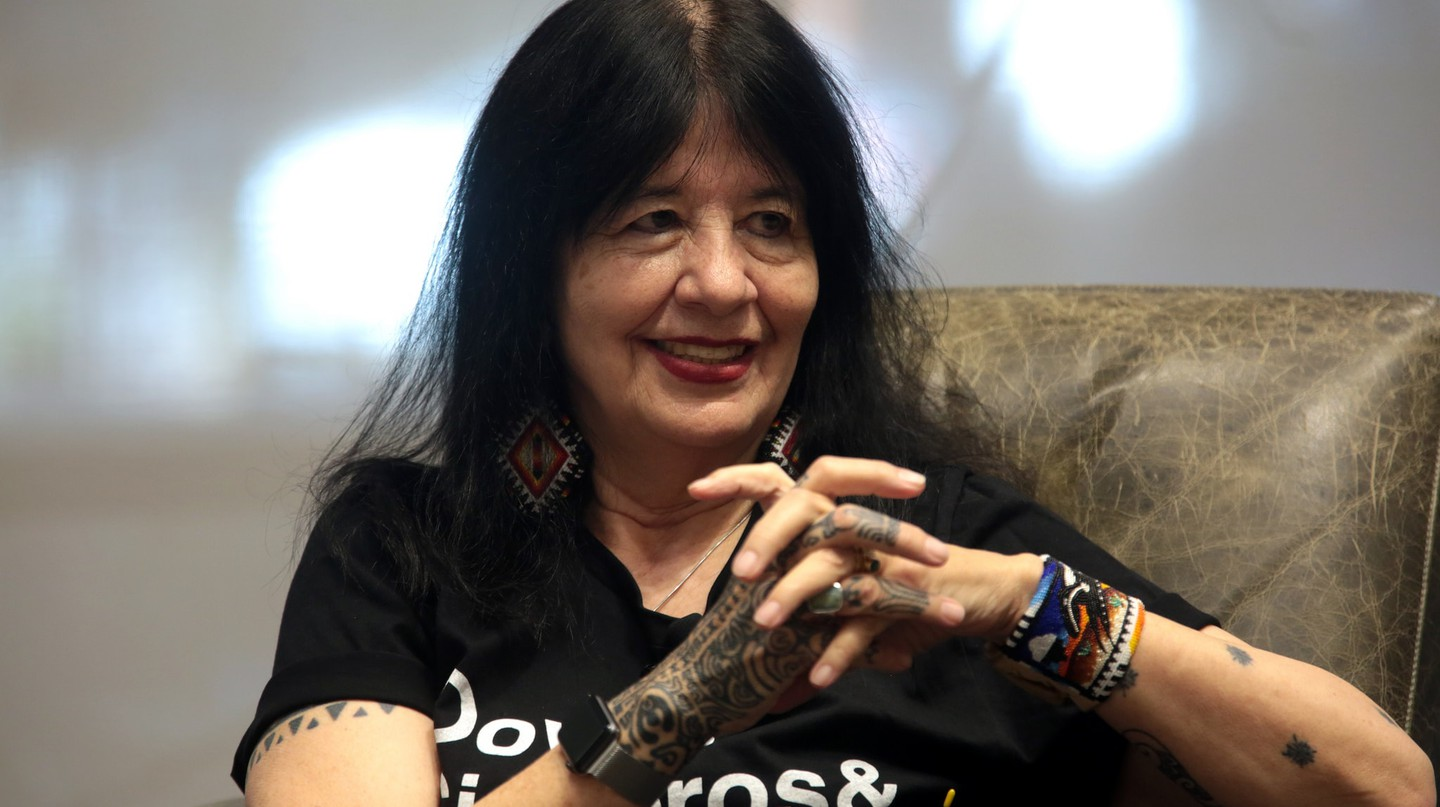 2017's Ruth Lilly Poetry Prize winner, Joy Harjo