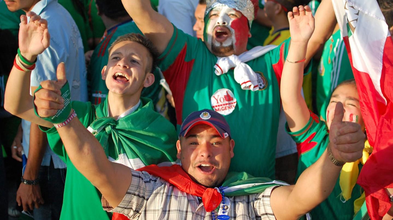 Tricolor fans