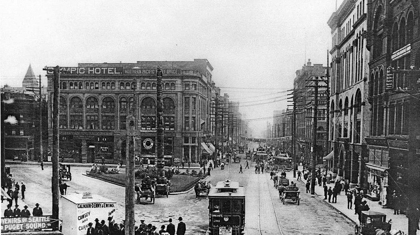 First and Cherry, circa 1905